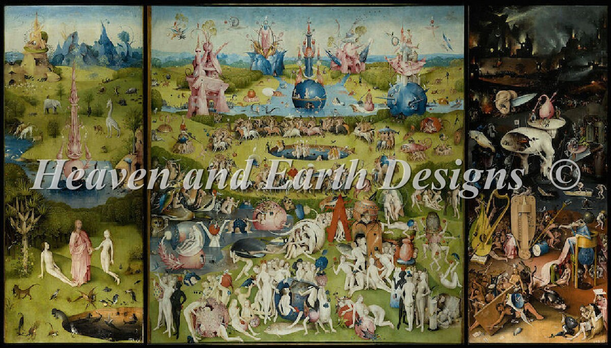 Supersized Garden Of Earthly Delights Max Color