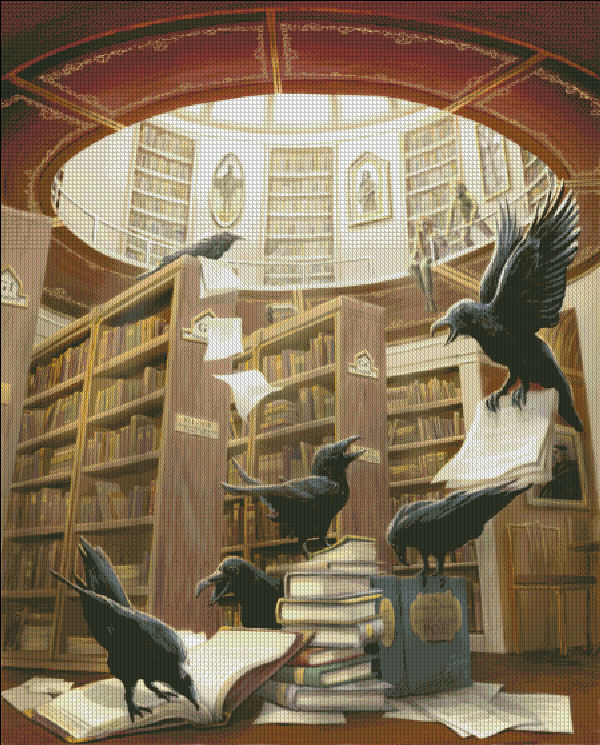 Ravens In The Library