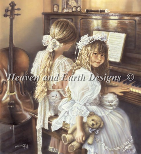 Kuck Sandra Heaven And Earth Designs Cross Stitch