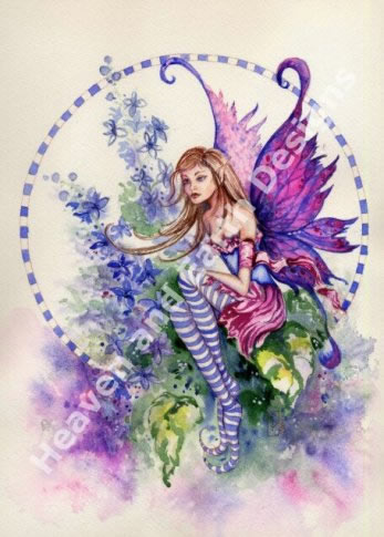 Larkspur Fairy