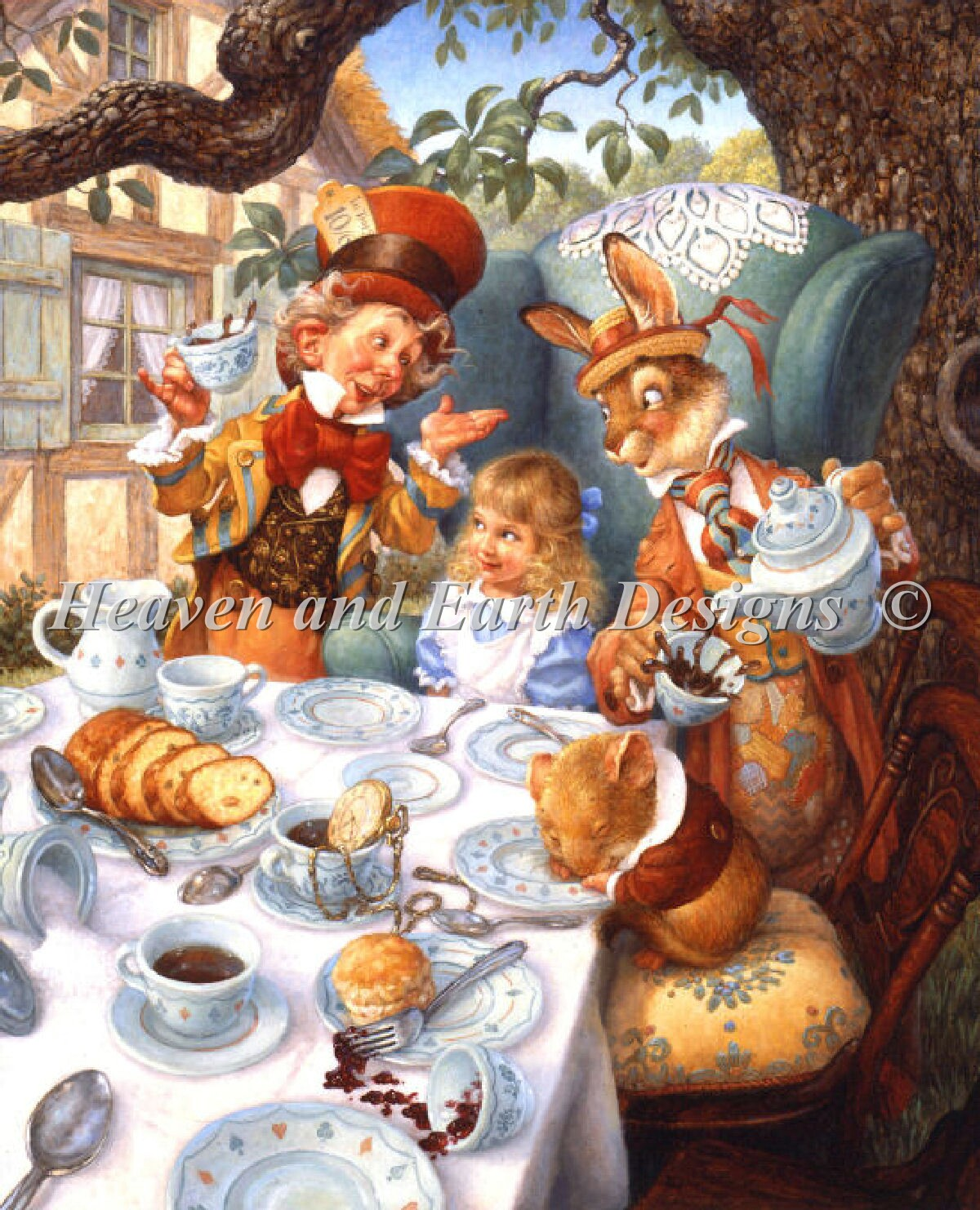 Mad Tea Party Max Color