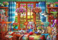 Supersized Patchwork Quilt Room Max Colors Material Pack