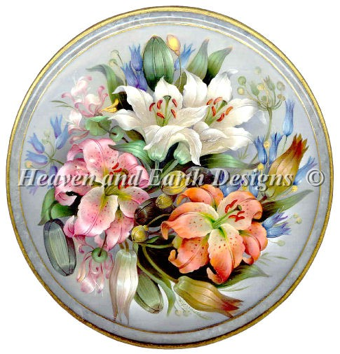 PTP Lily Bouquet - Click Image to Close