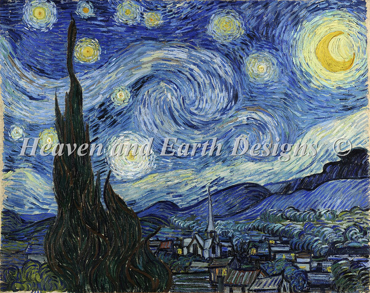 A Starry Starry Night Select A Size