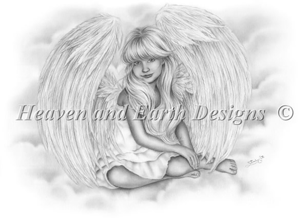 Little Angel In The Sky - Click Image to Close